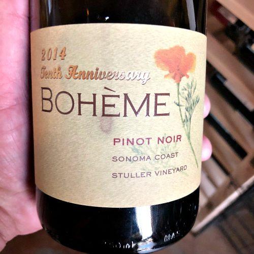 Boheme Pinot Noir Stuller