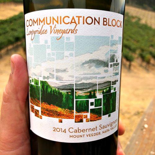 Communication Block Cabernet