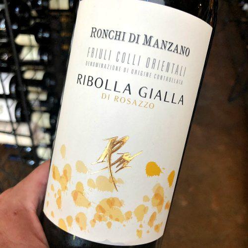 Ronchi Manzano Ribolla Gialla