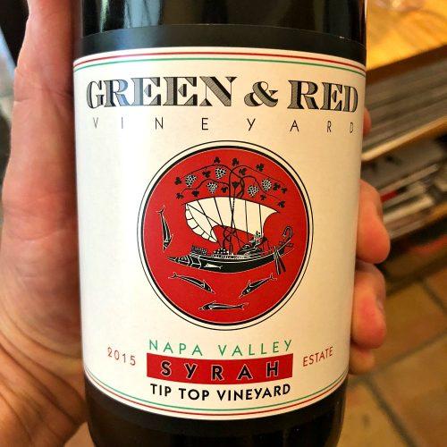 Green & Red Syrah Tip Top