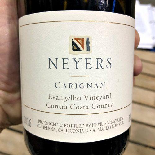 Neyers Carigane Evangelho