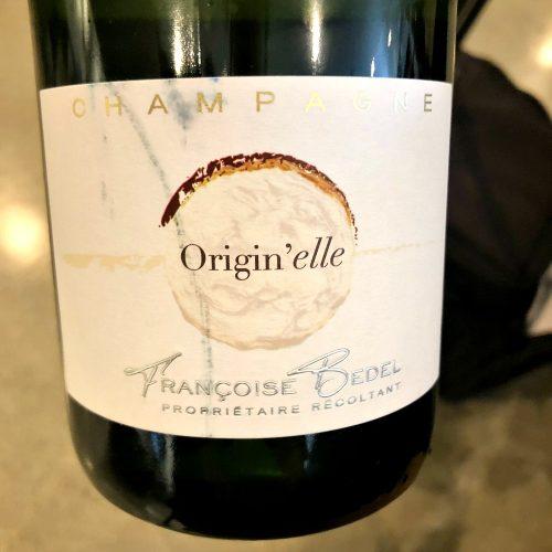 Francoise Bedel Champagne Origin'elle