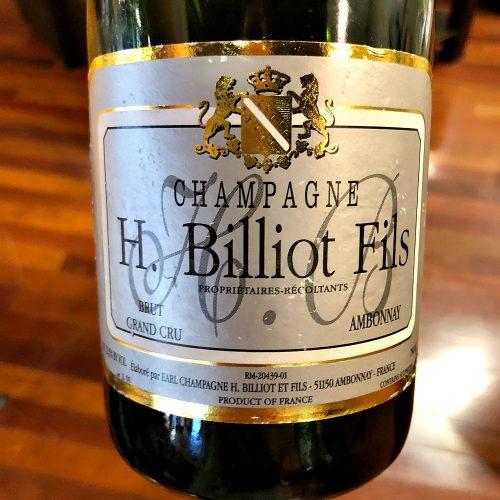 H Billiot Champagne Brut