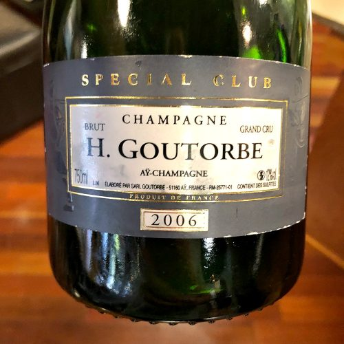 H Goutorbe Champagne Special Club 2006