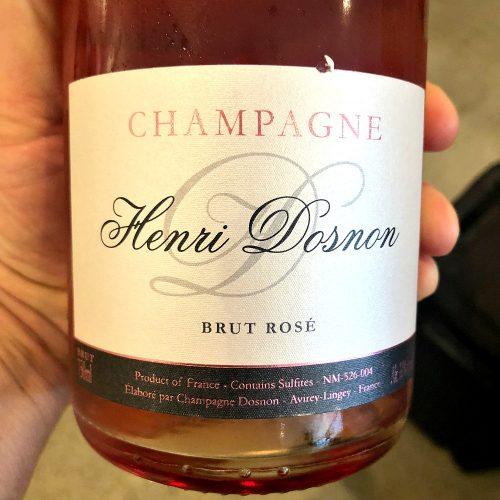 Henri Dosnon Champagne Brut Rose