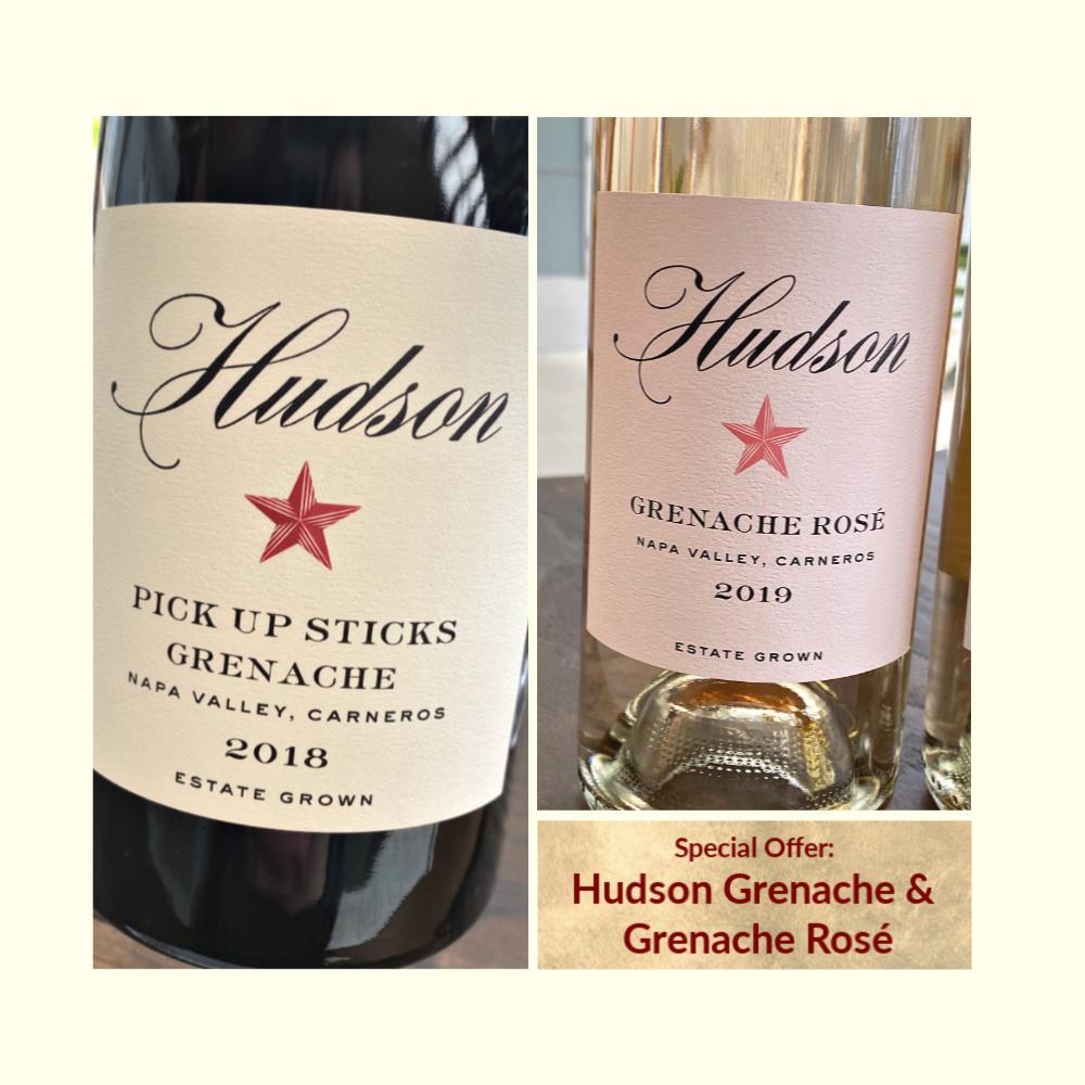 Hudson Grenache promotion