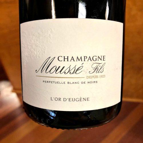 Mousse Champagne L'or d'Eugene
