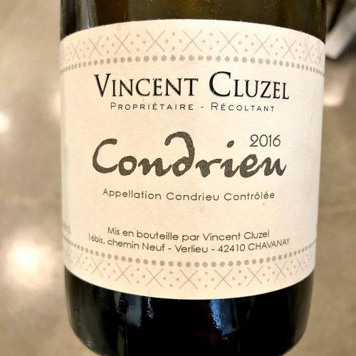 Vincent Cluzel Condrieu