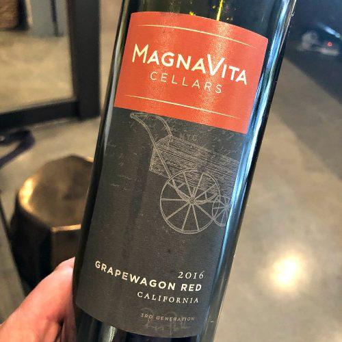 MagnaVita Grapewagon Red