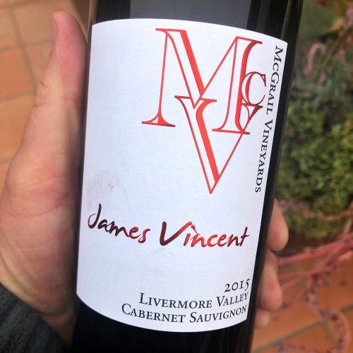 McGrail Cabernet James Vincent