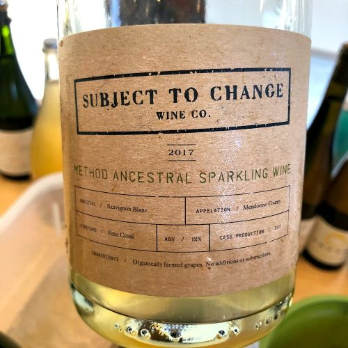 Subject to Change Sparkling