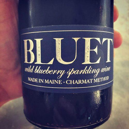 Bluet Wild Blueberry Sparkling Wine