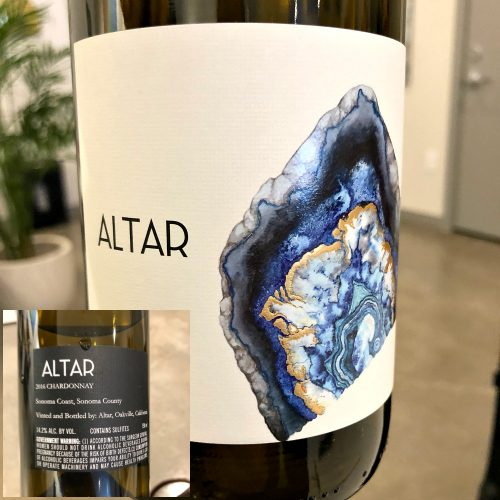 Altar Chardonnay Sonoma Coast