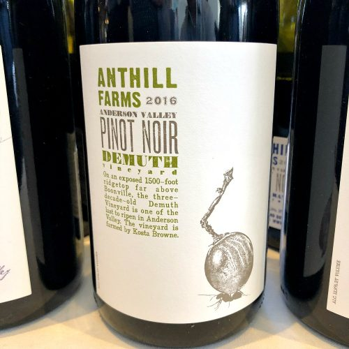 Anthill Farms Pinot Noir Demuth