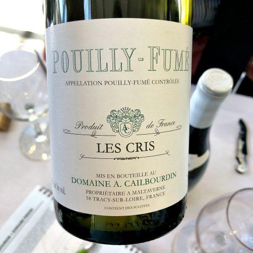 Cailbourdin Pouilly Fume Les Cris
