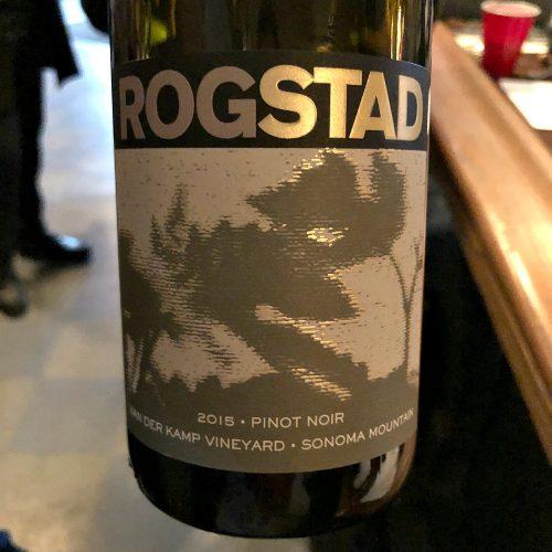 Rogstad Pinot Noir Van der Kamp