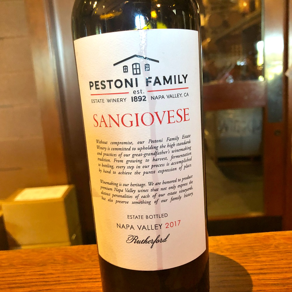 Pestoni Sangiovese
