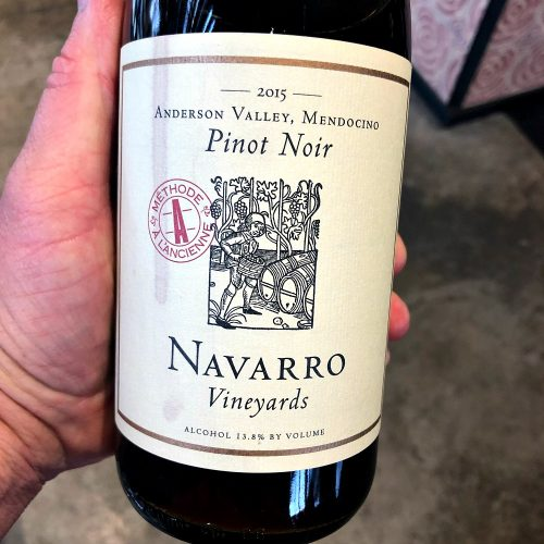 Navarro Pinot Noir Methode a l'Ancienne