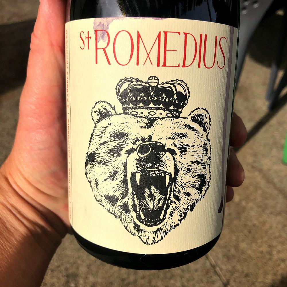 St Romedius Red Wine