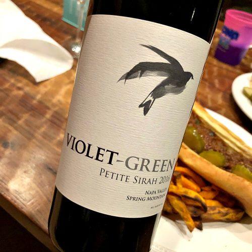 Violet Green Petite Sirah
