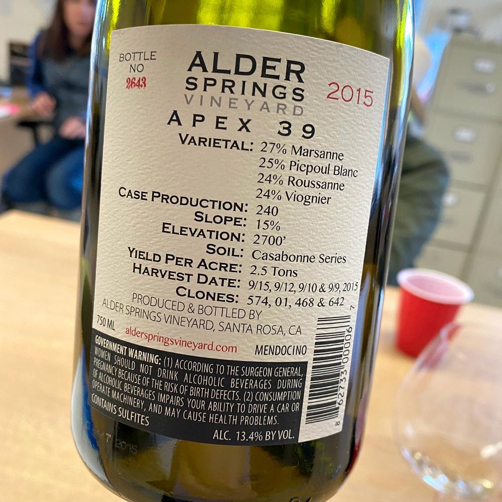 Alder Springs Apex 39