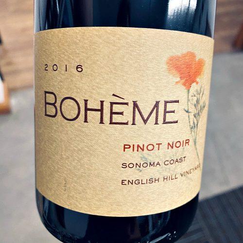 Boheme Pinot Noir English Hill