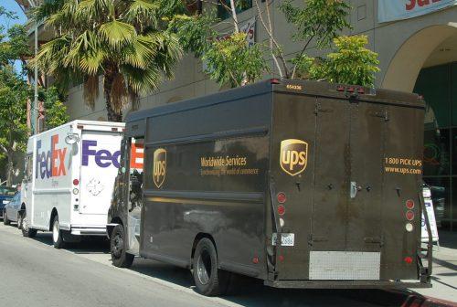 Wine Delivery Trucks
