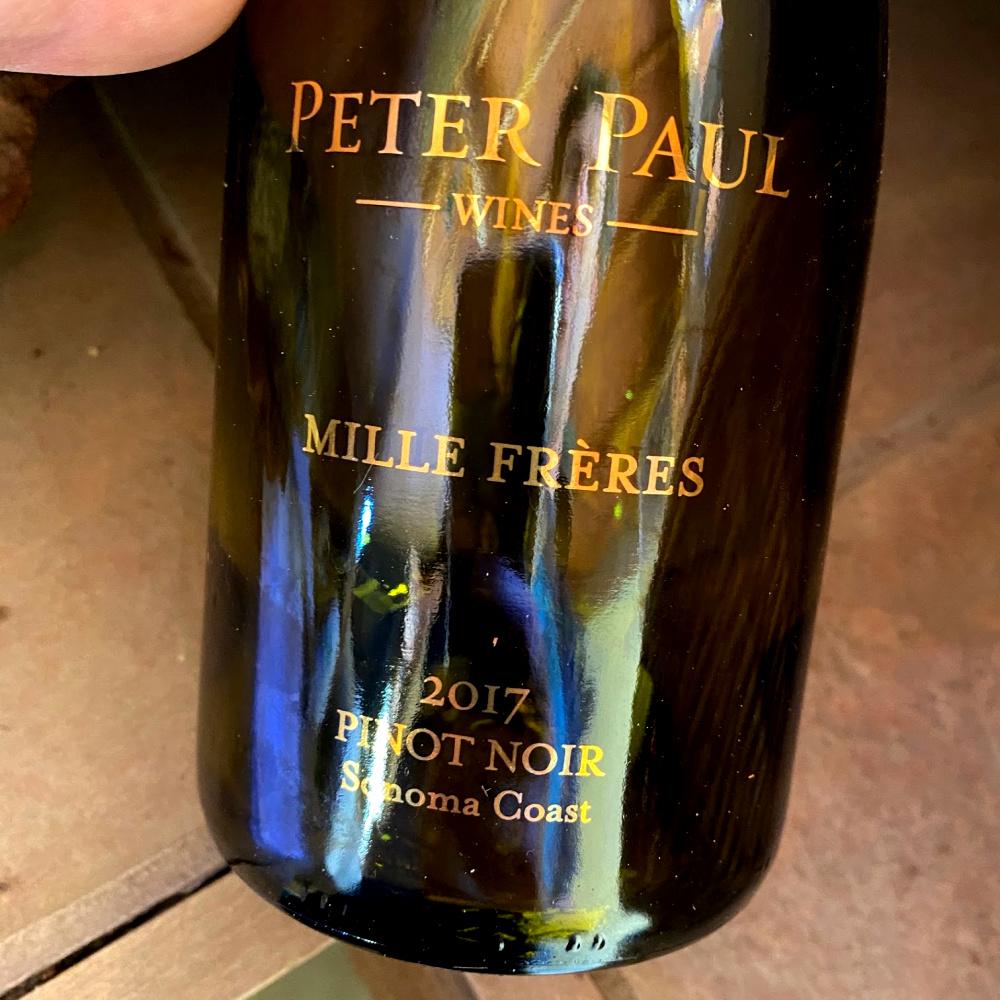 Peter Paul Pinot Noir Milles Freres