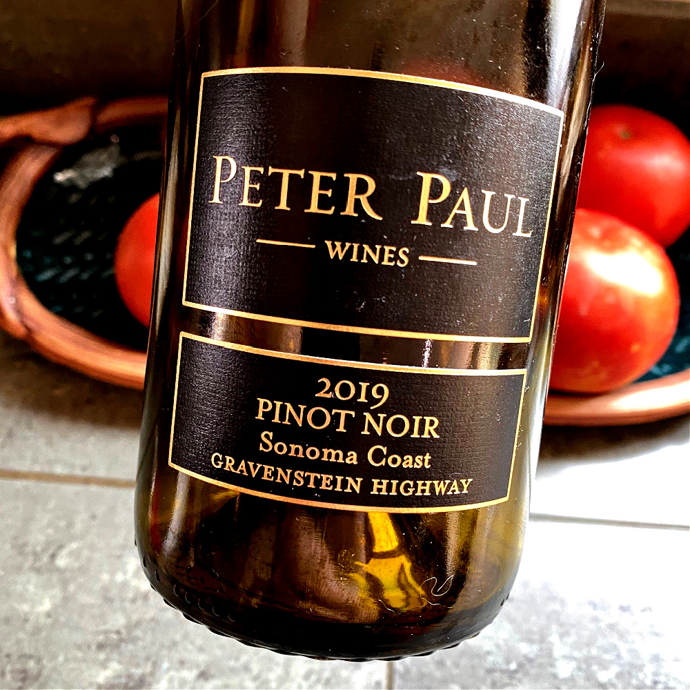 Peter Paul Pinot Noir Gravenstein Highway