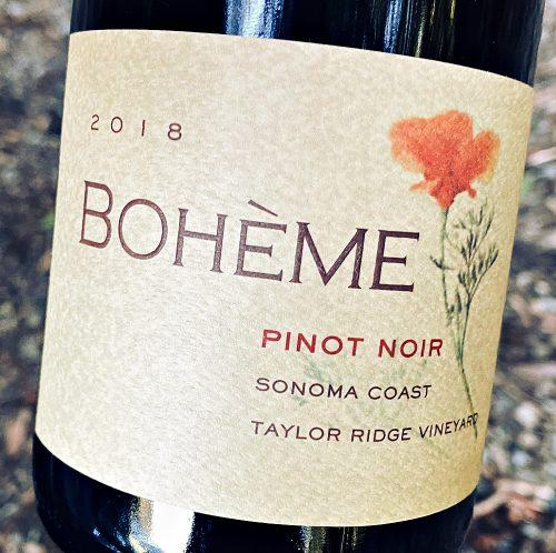 Boheme Pinot Noir Taylor Ridge