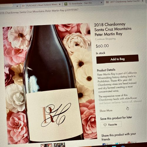 Read Holland Chardonnay
