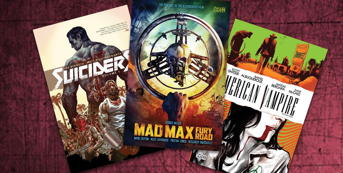 Vertigo Collected Editions Sale Up To 53 At Comixology Mad Max