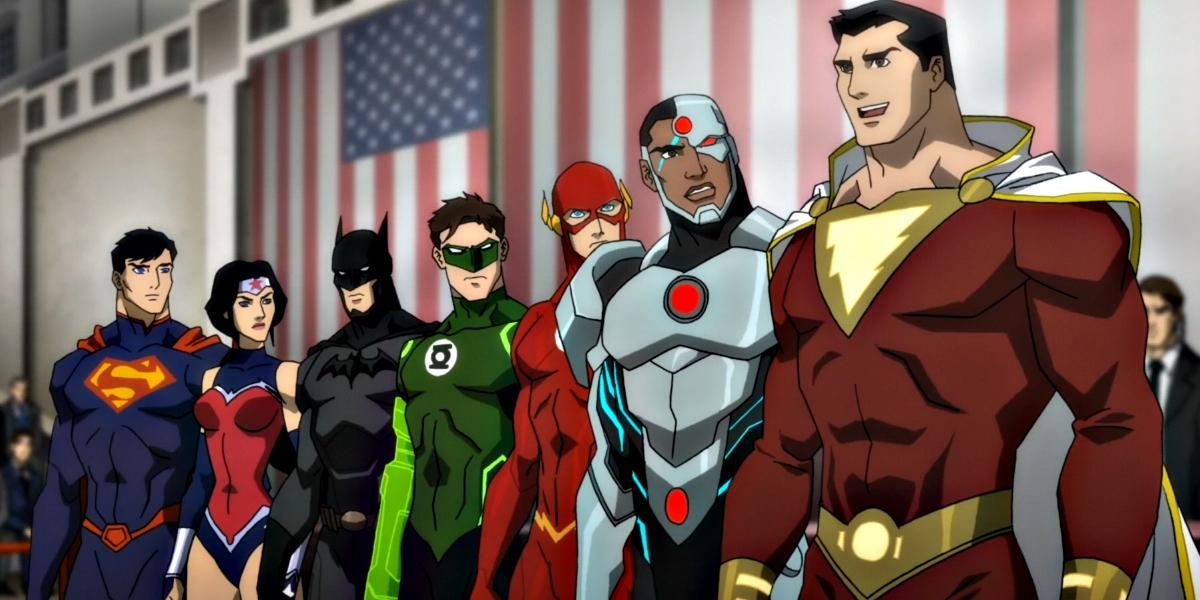 Justice League War German