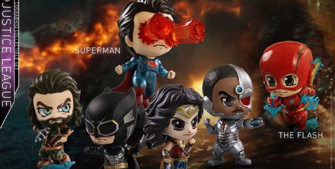 Hot Toys Justice League The Flash Cosbaby  DC  Ezra Miller