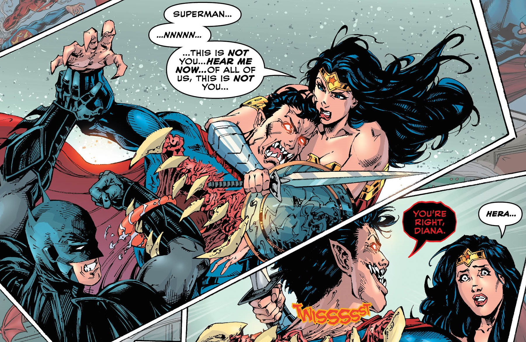By Ken Levine Wonder Woman My Review: Review: Trinity #14
