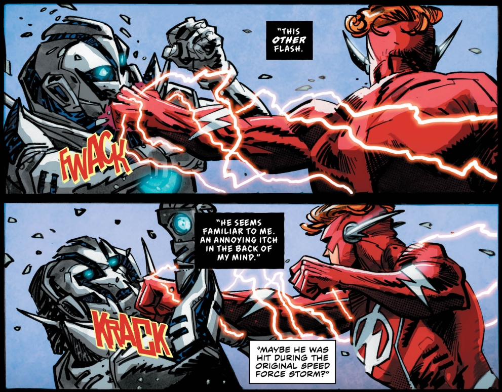 the flash barry joins the speed force