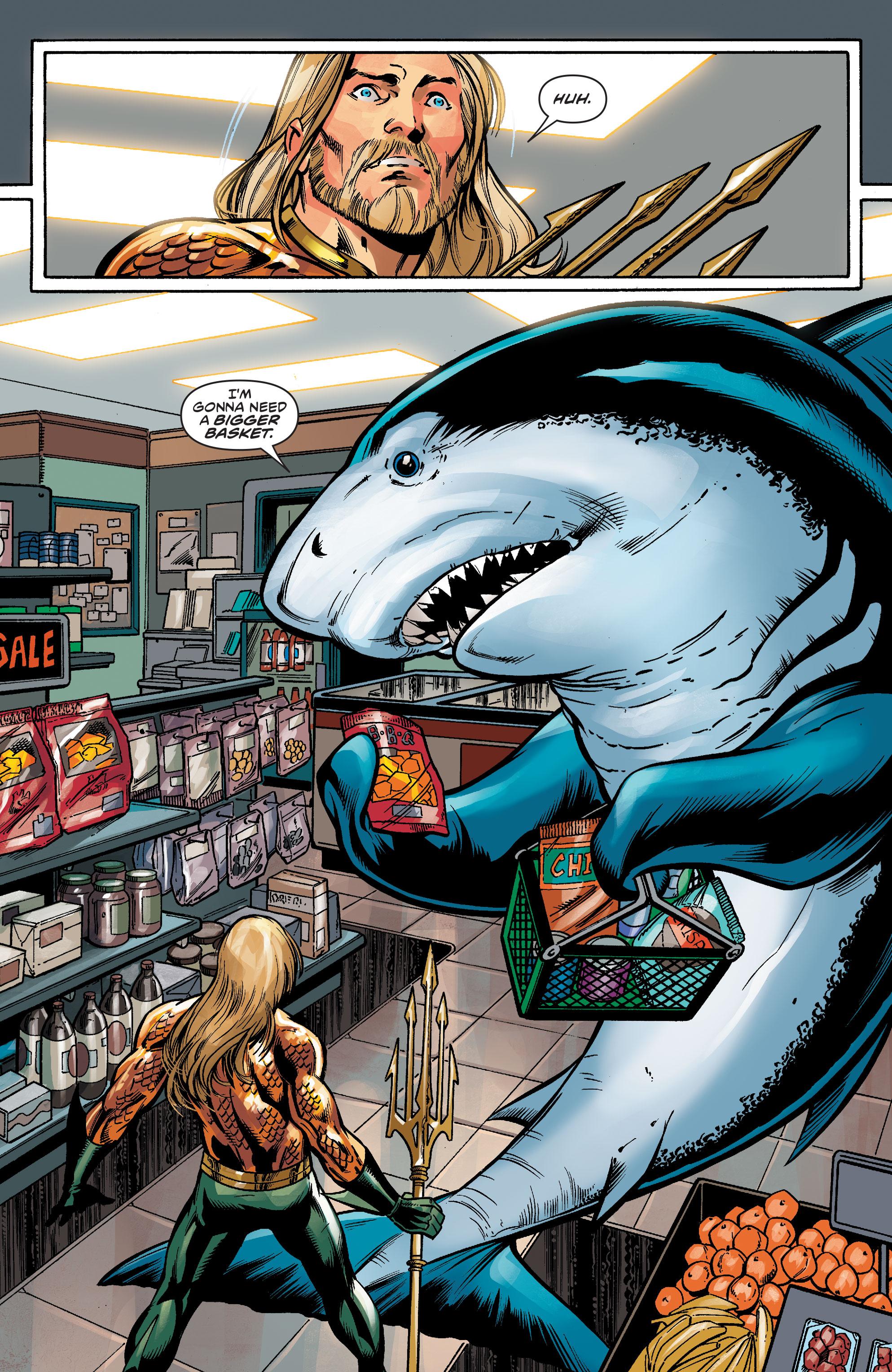 Shazam Aquaman Get New Magazine Covers: Review: Aquaman/Jabberjaw Special #1