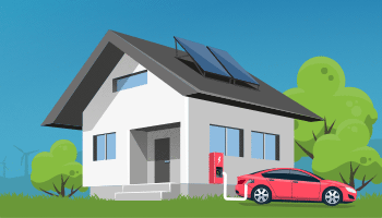 Image depicting an energy efficient home