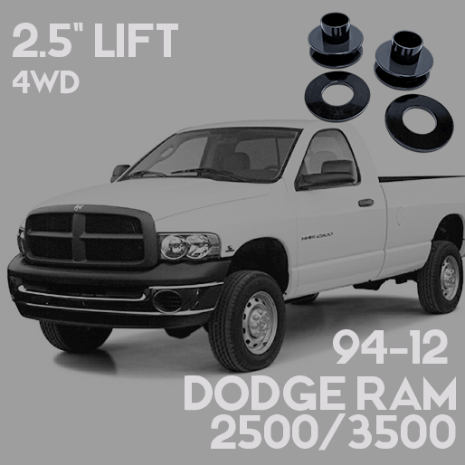 Dodge 2500 3500 2 Leveling Lift Kit 2013 2017 Dealr
