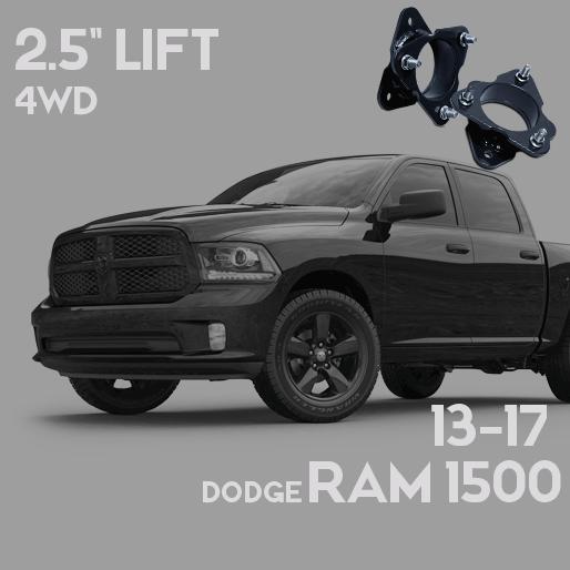 2017 Ram 1500 Leveling Kit >> Dodge Ram 1500 2 5in Leveling Lift Kit 2013 2017 Dealr