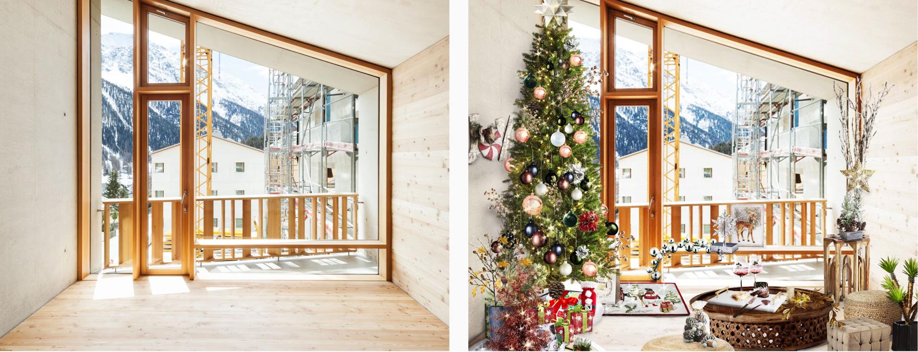 Winter Modern Dining Room AR Interior Design