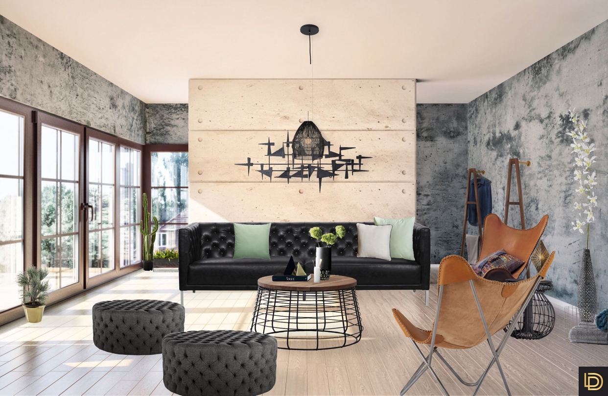 ... Are Essential Materials For Industry Style As Well The Furnitures And  Decoration Arrangement In Groups Are Fashionable With Lux Interiors And  Design
