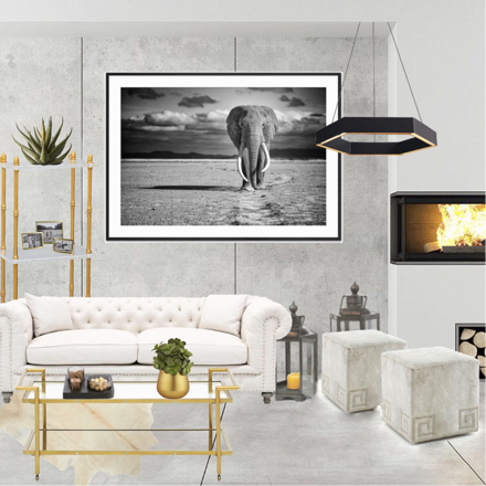 Bachlor Industrial Style Bedroom Design