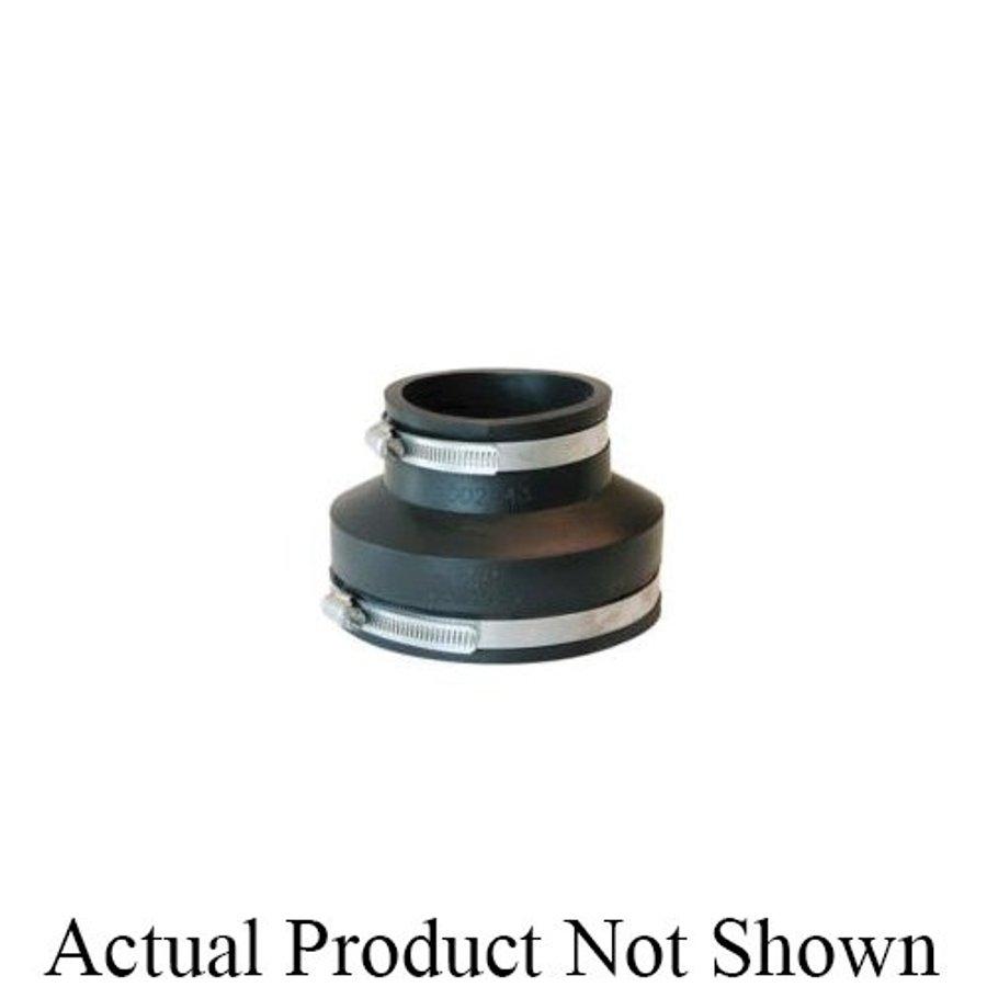 "Fernco Flexible Rubber 4/""×3/"" Stock Couplings Hose Adapters Repair Kits Fixtures"