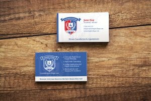 DesignerKen Graphics - Business Cards - Consulting4College