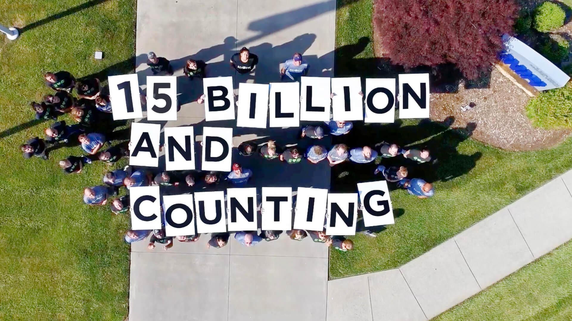 15 Billion 16 9