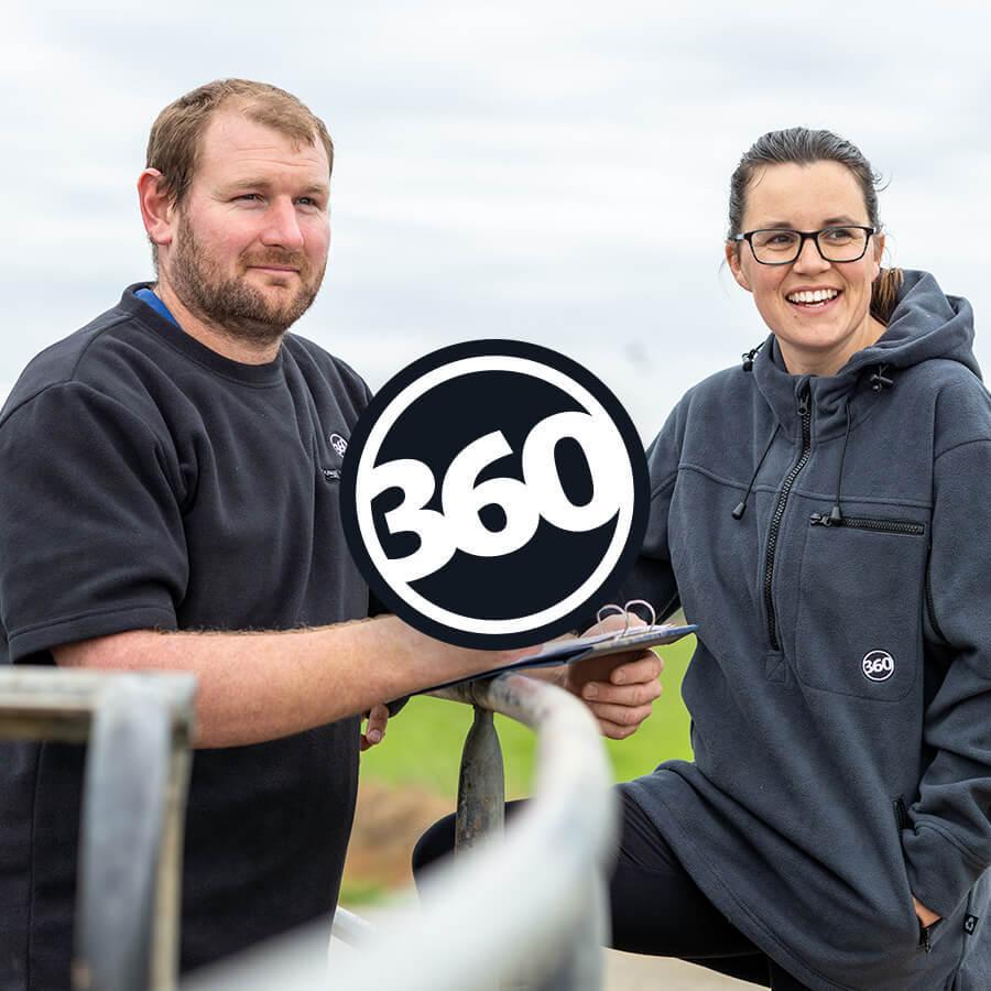 360 Brand Badge