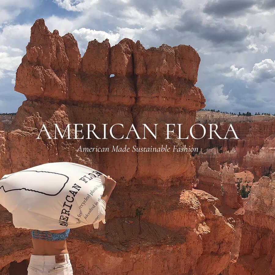 American Flora Badge