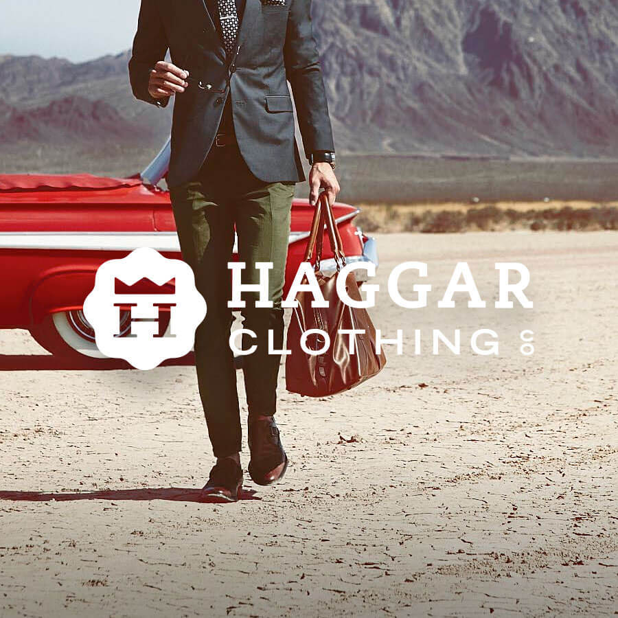 Haggar Cothing Badge