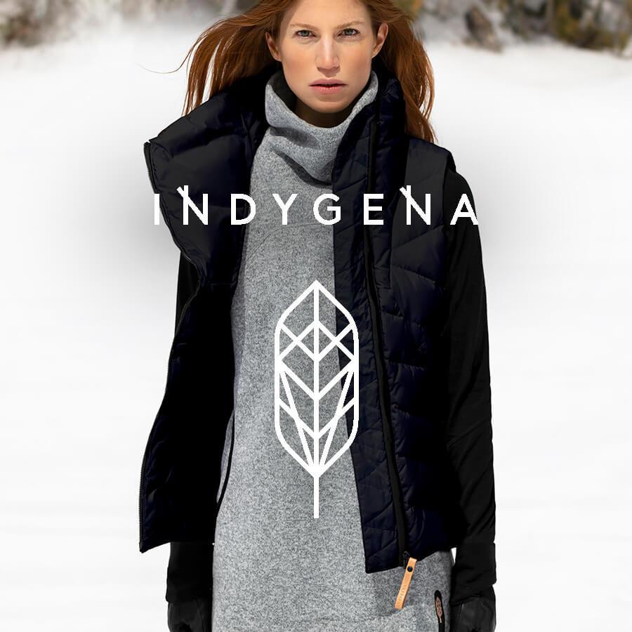 Indygena Brand Badge